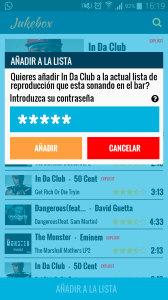 Jukebox diseño de apps