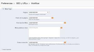 Crear página personalizada prestashop