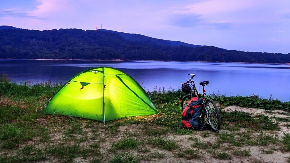 acampada libre en mont ras catalunya
