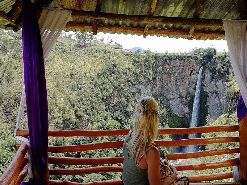 cascada de sumatra