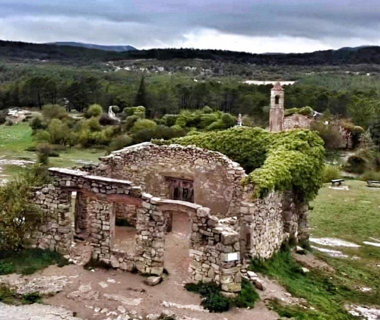 la mussara pueblo abandonado