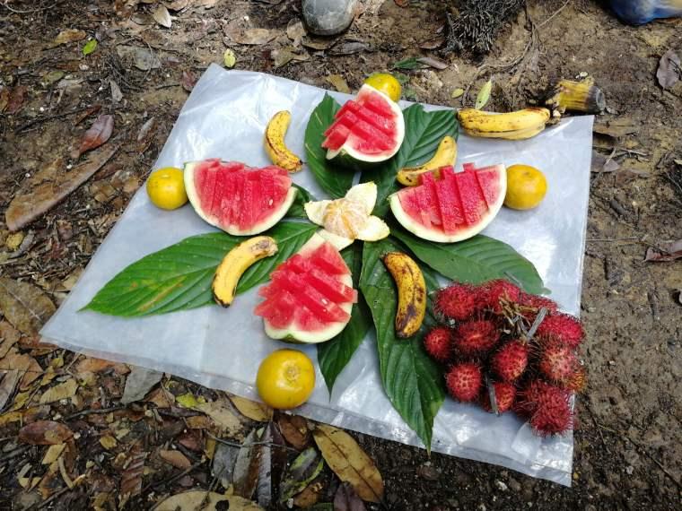 fruta en sumatra