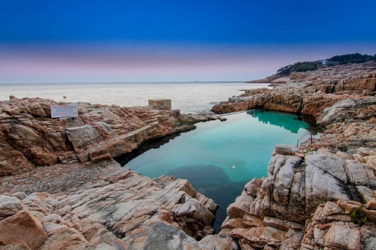 piscina natural begur