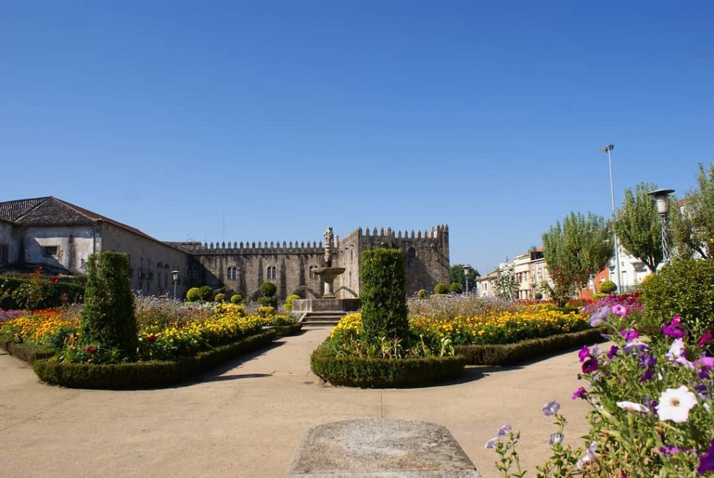 braga en el norte de portugal