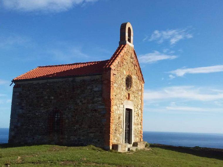 ermita santa catalina desfiladero de la hermida