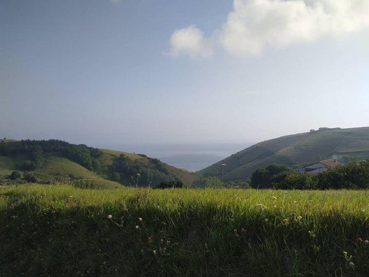 vistas ruta flysch