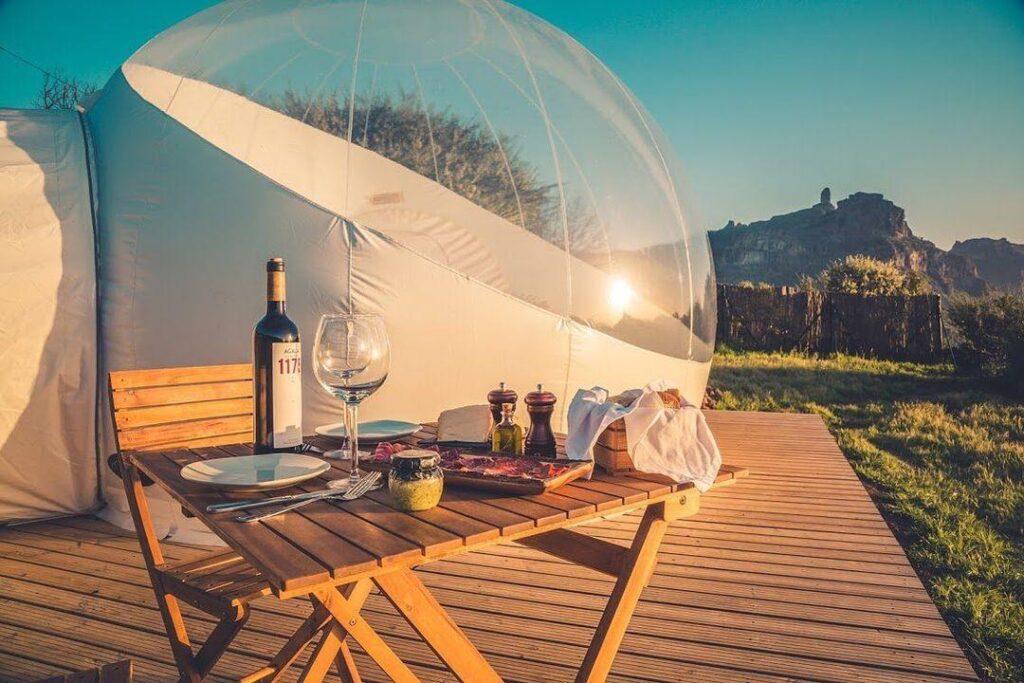 burbujas hoteles españa