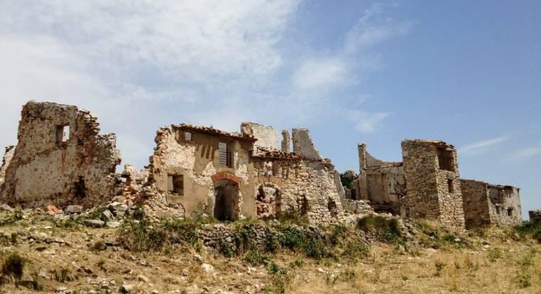 gallicant pueblo fantasma cataluna