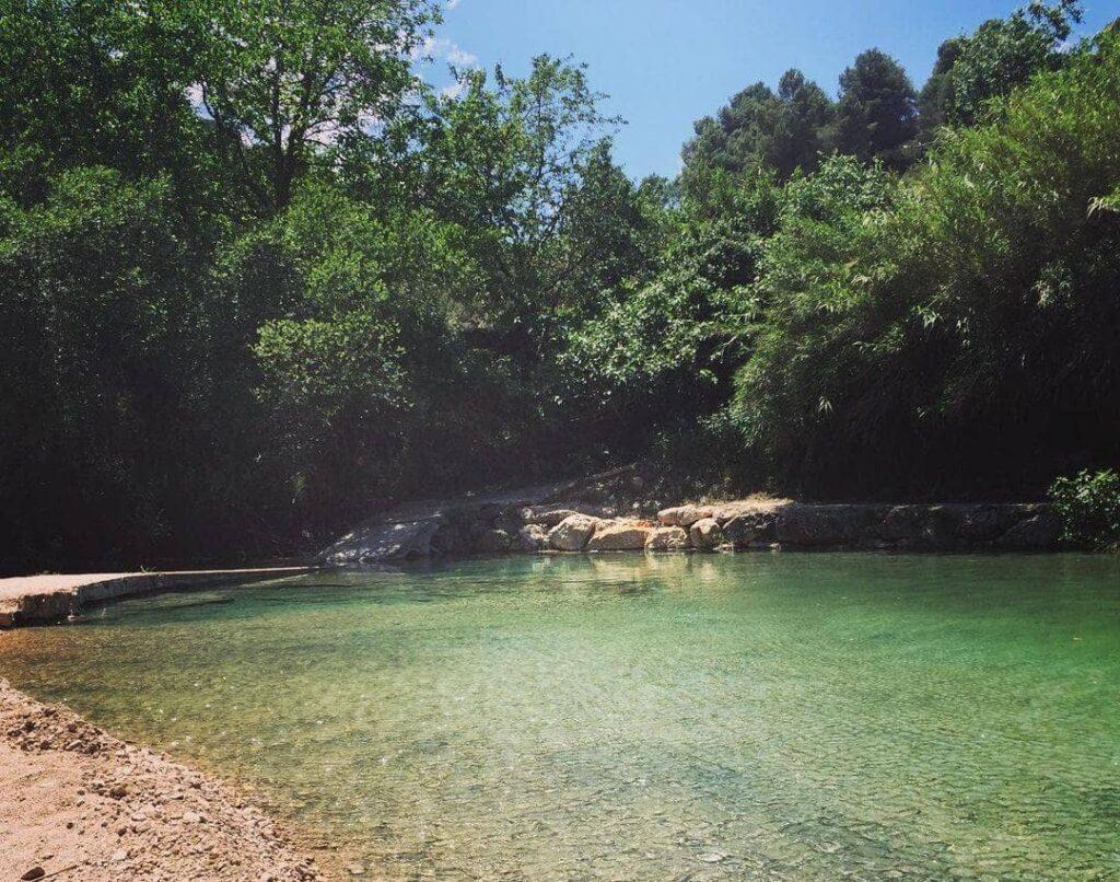 piscina natural de beceite