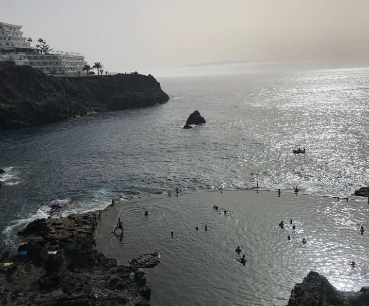 piscina natural puerto de santiago