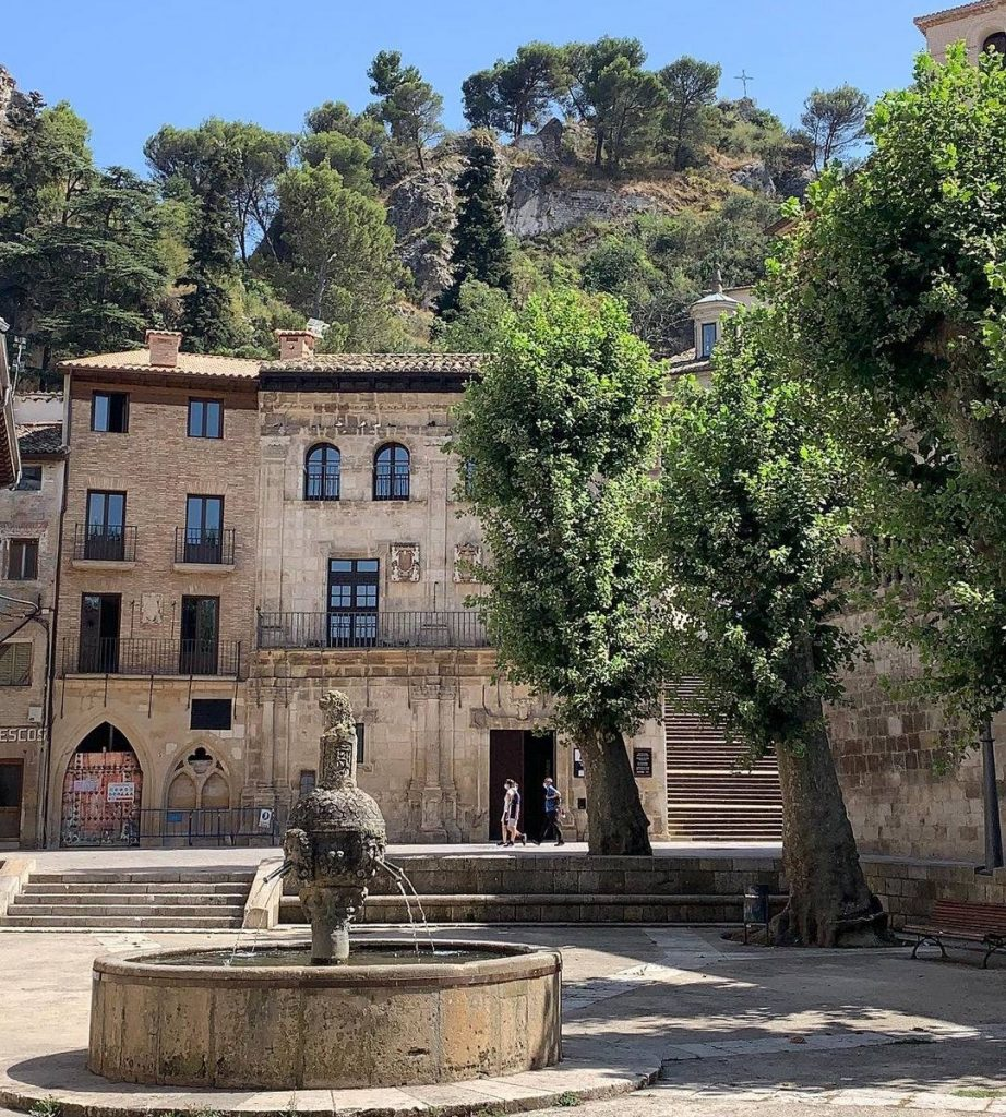 plaza de san martin estella