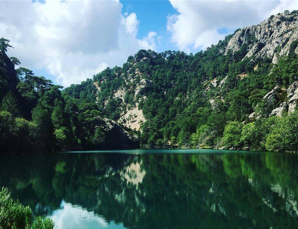 laguna rio borosa