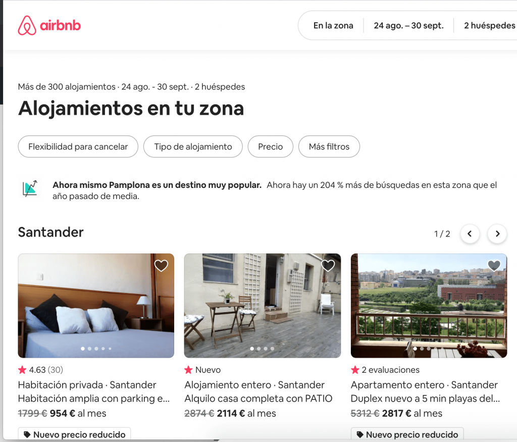 airbnb código descuento