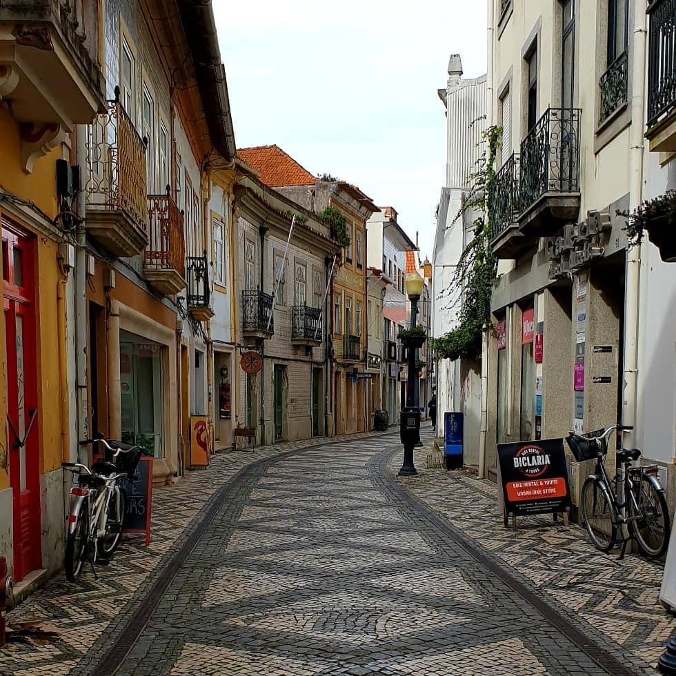 calles de aveiro venecia portuguesa