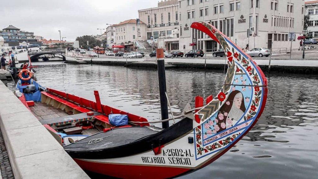 barca en aveiro