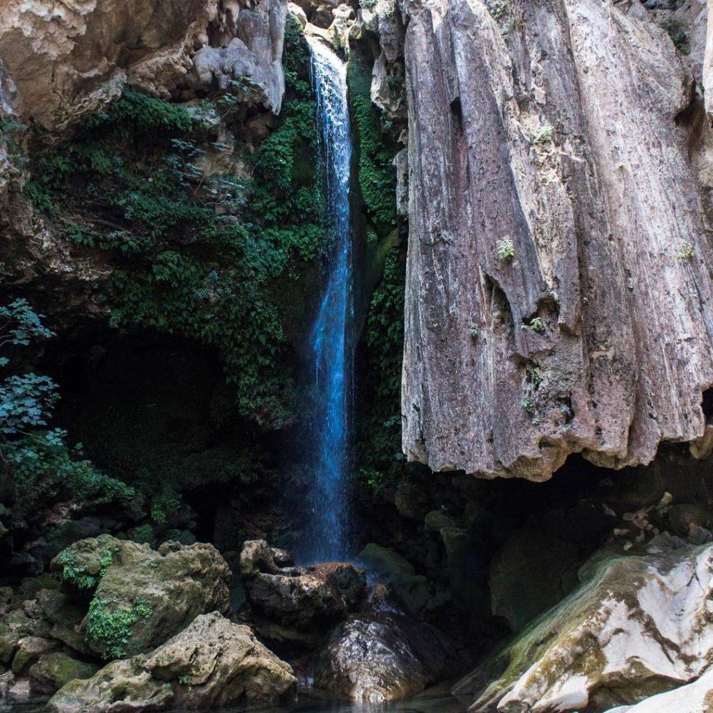 Cascada rio borosa