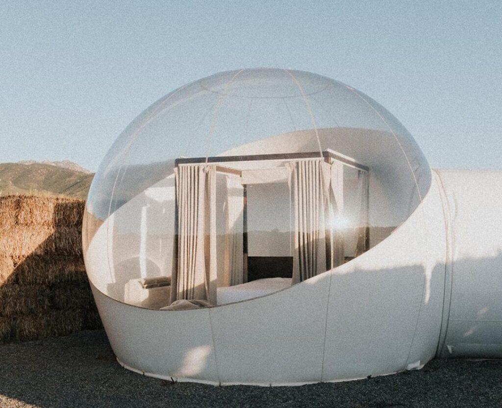 hotel burbuja en mexico