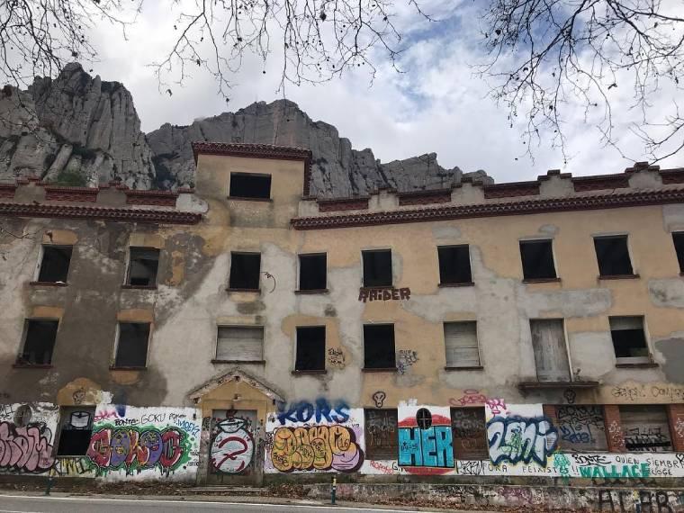 hotel abandonado barcelona