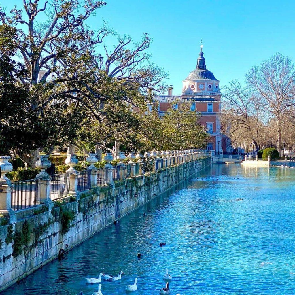 lago jardin de aranjuez