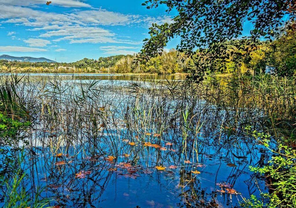 lago de banyoles en cataluña