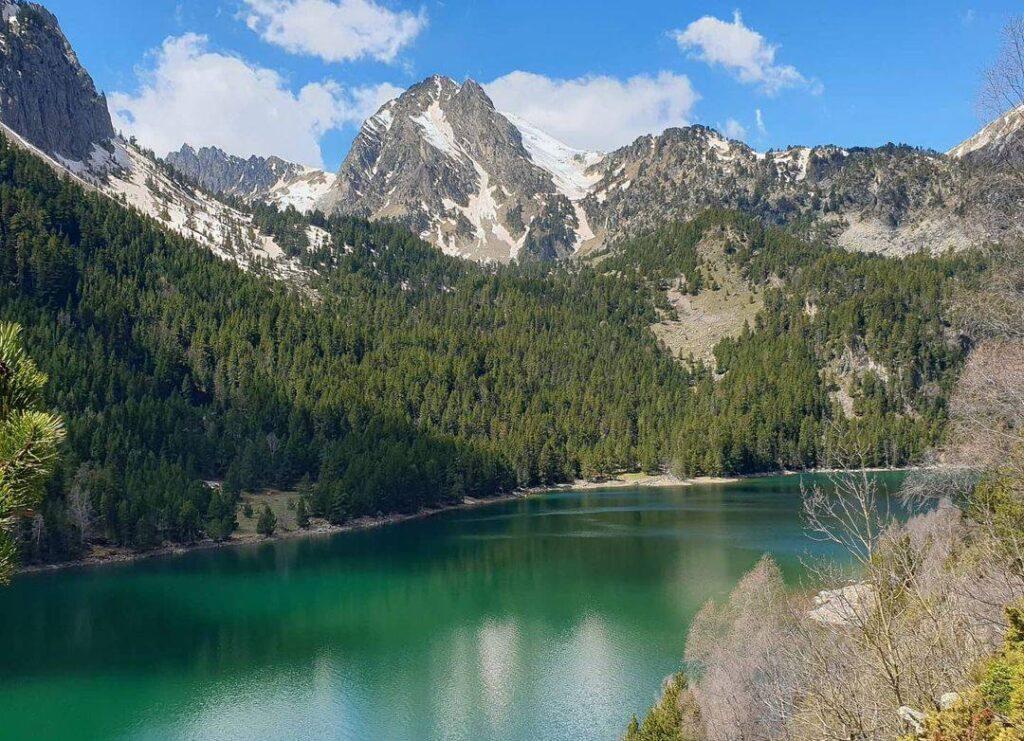 lago de san mauricio cataluña