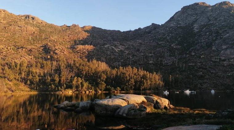 paisaje cascada de ezaro