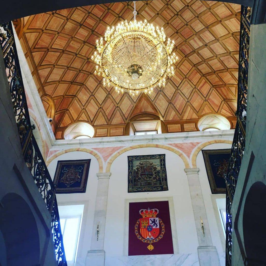 palacio real aranjuez interior