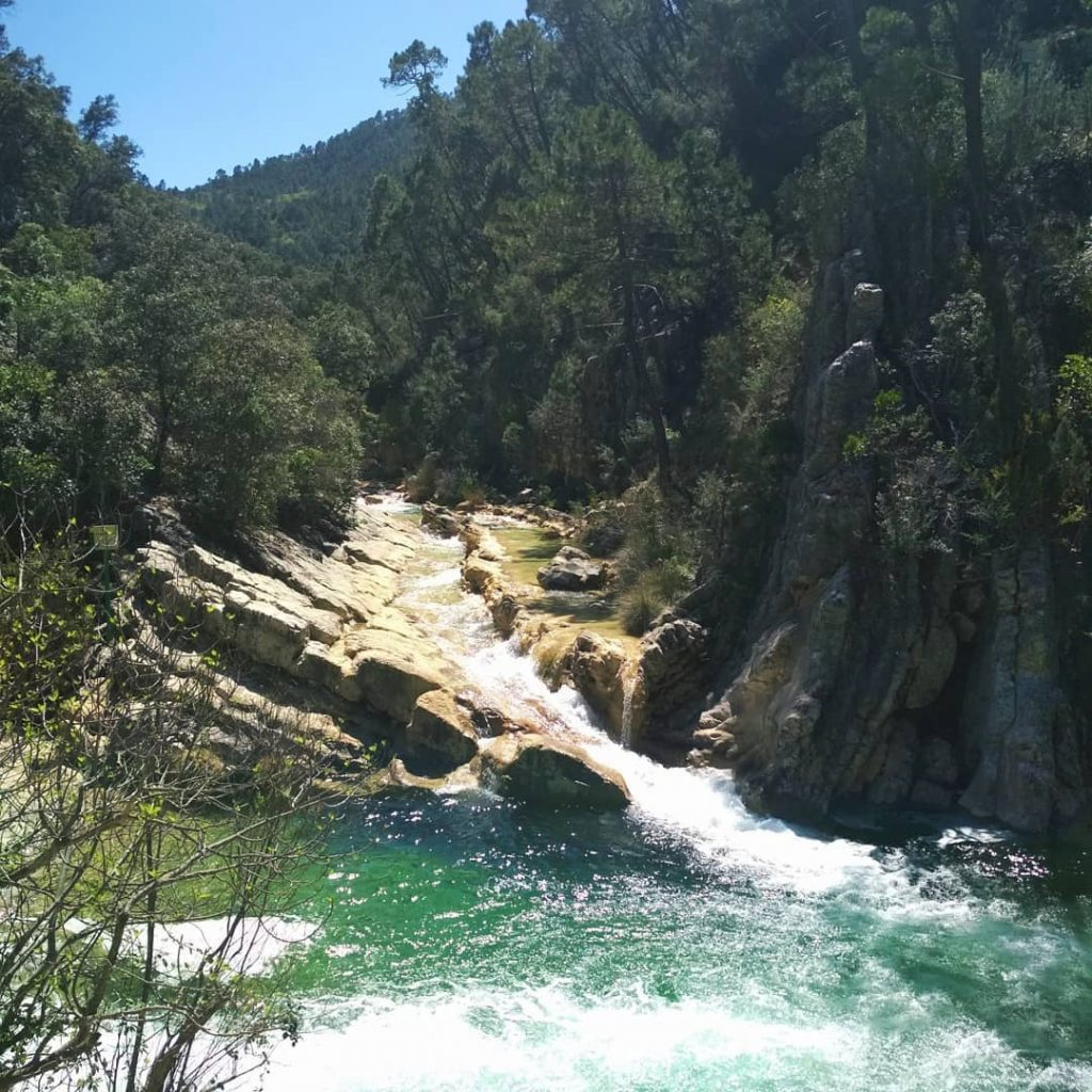 ruta rio borosa agua
