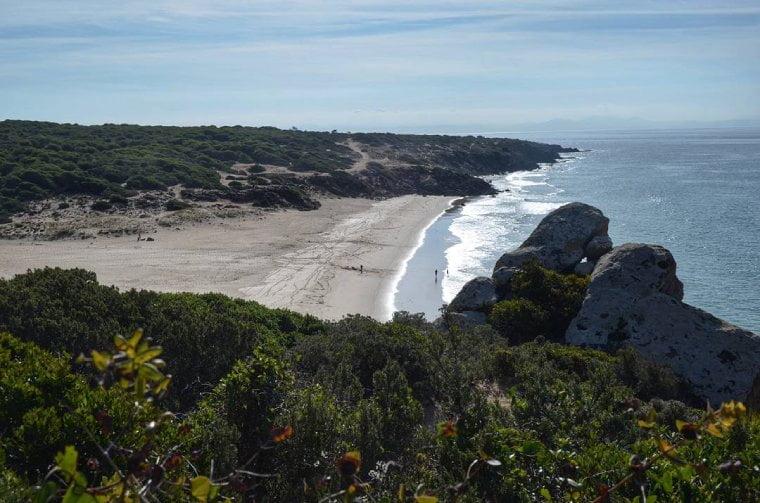playa tarifa el cañuelo