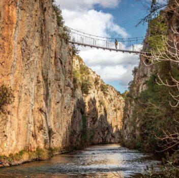 Puentes colgantes de Chulilla