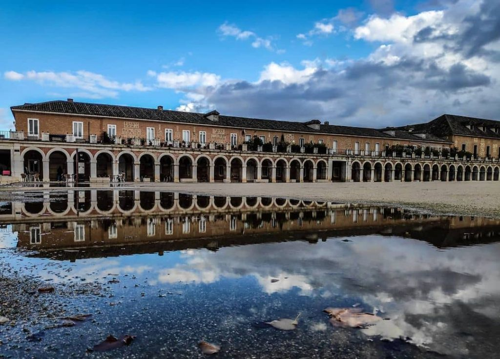 palacio exterior aranjuez