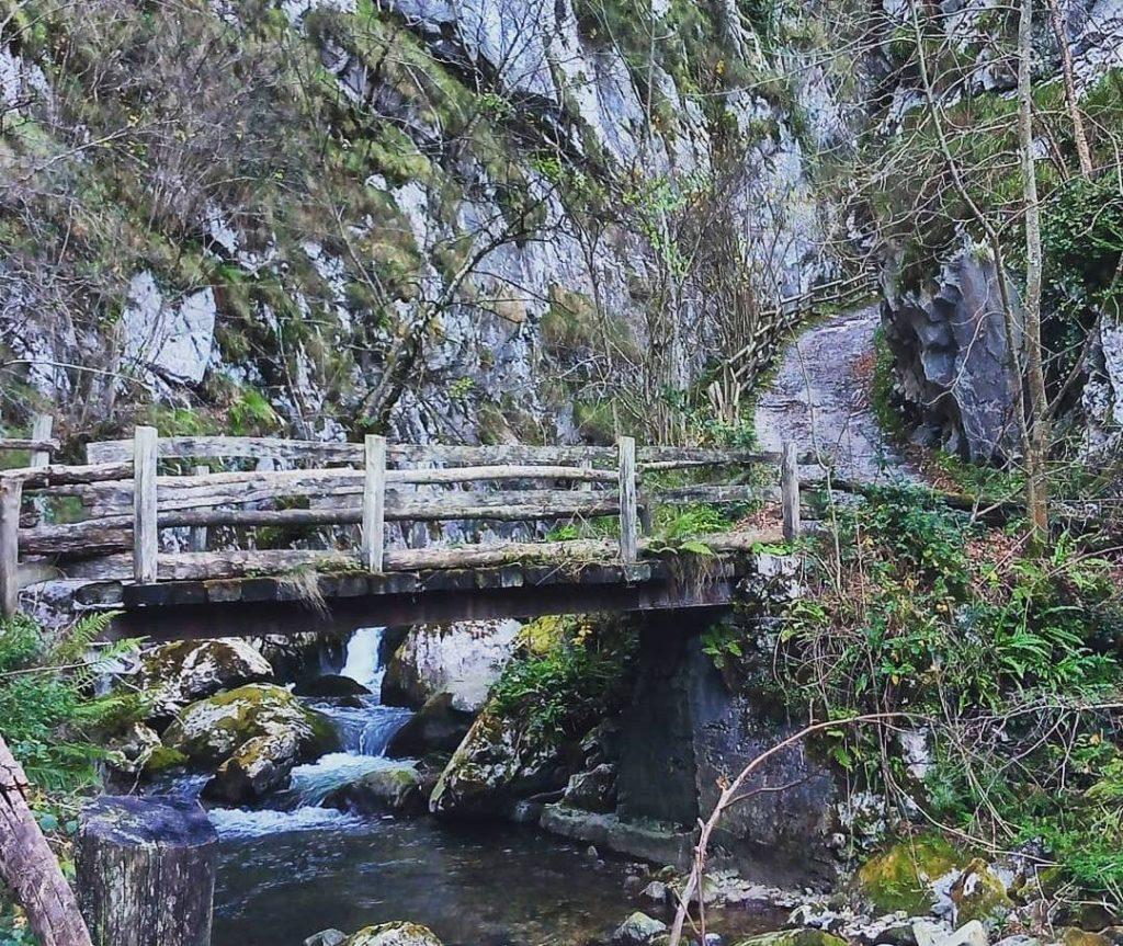 puente ruta desfiladero de los arrudos