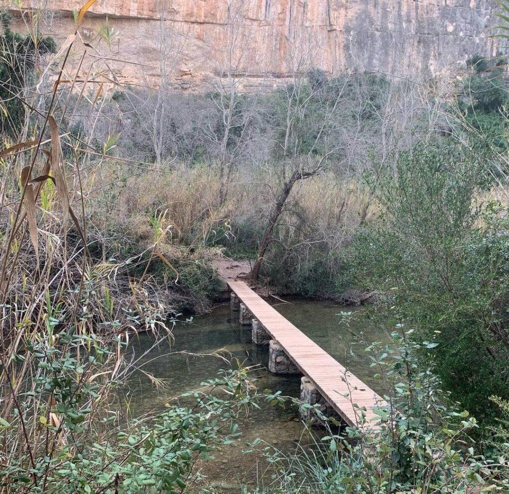 ruta puentes colgantes chulilla