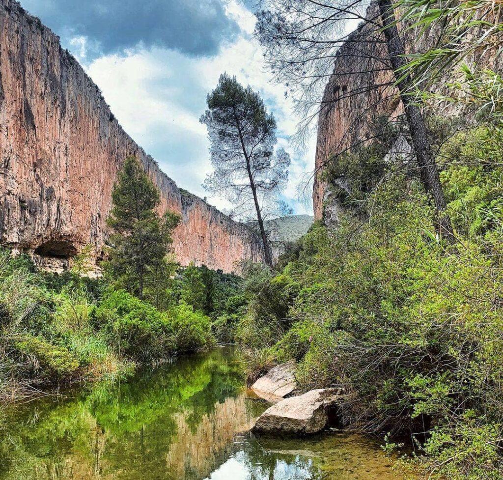 ruta puentes colgantes de chulilla