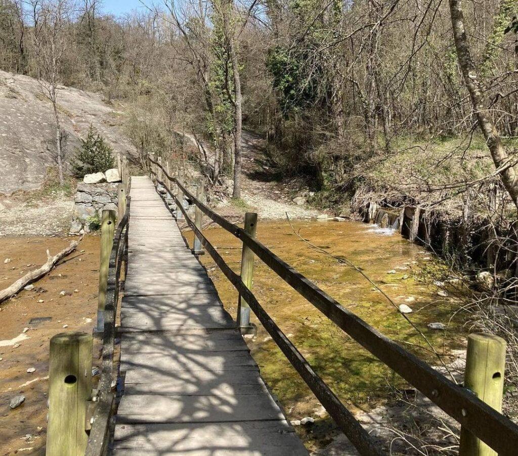 puente de madera salt del mir