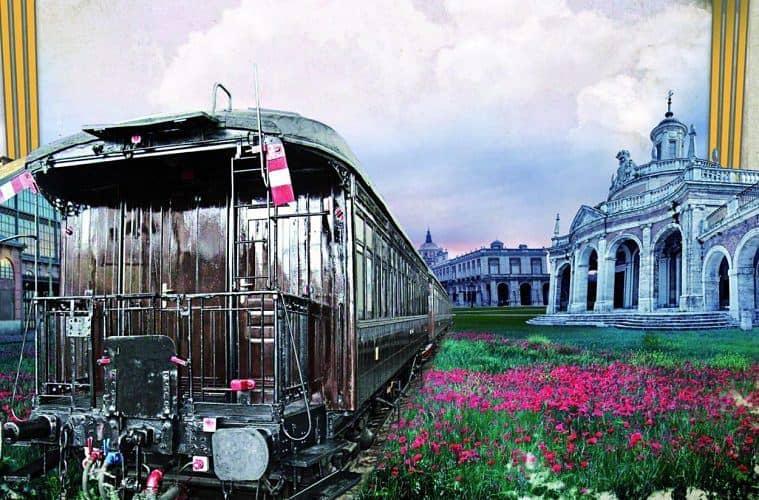 tren de fresa aranjuez